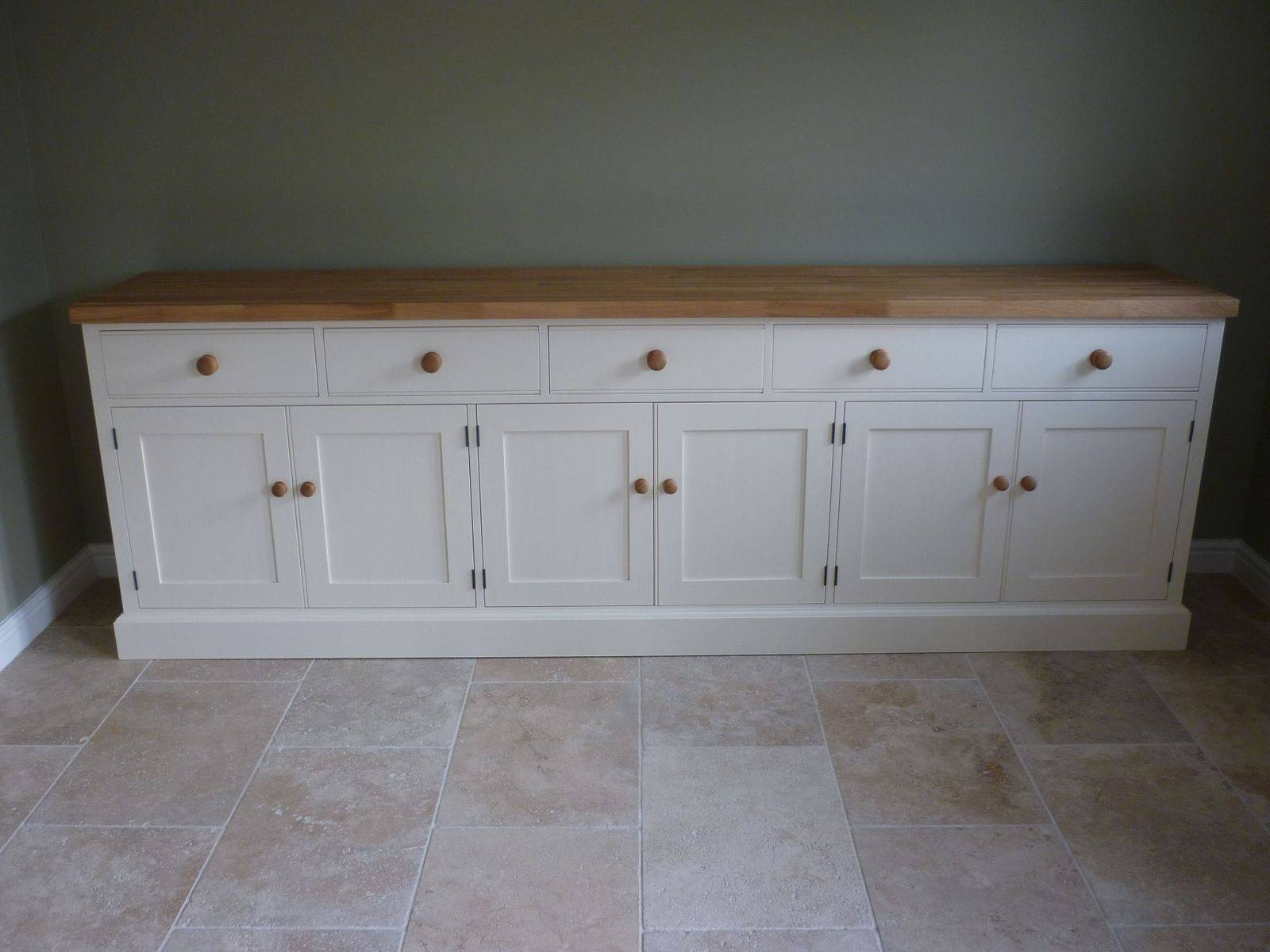 Solid Wood & Painted Made To Measure Sideboards Throughout Kitchen Sideboard (#17 of 20)