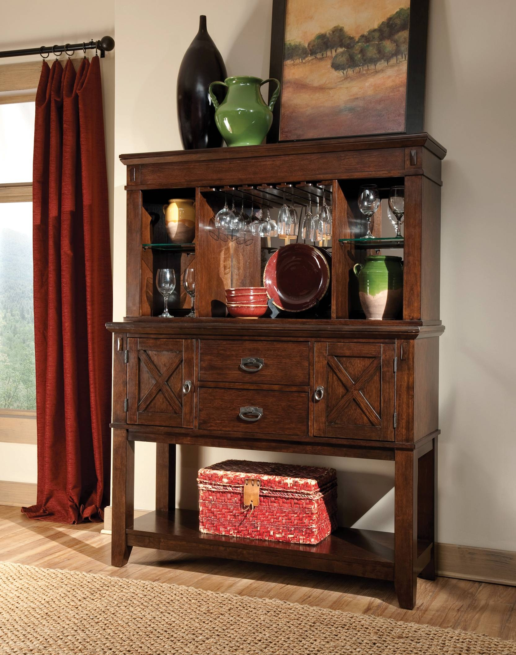 Sonoma Sideboard With Hutch With Regard To Sideboard With Hutch (#19 of 20)
