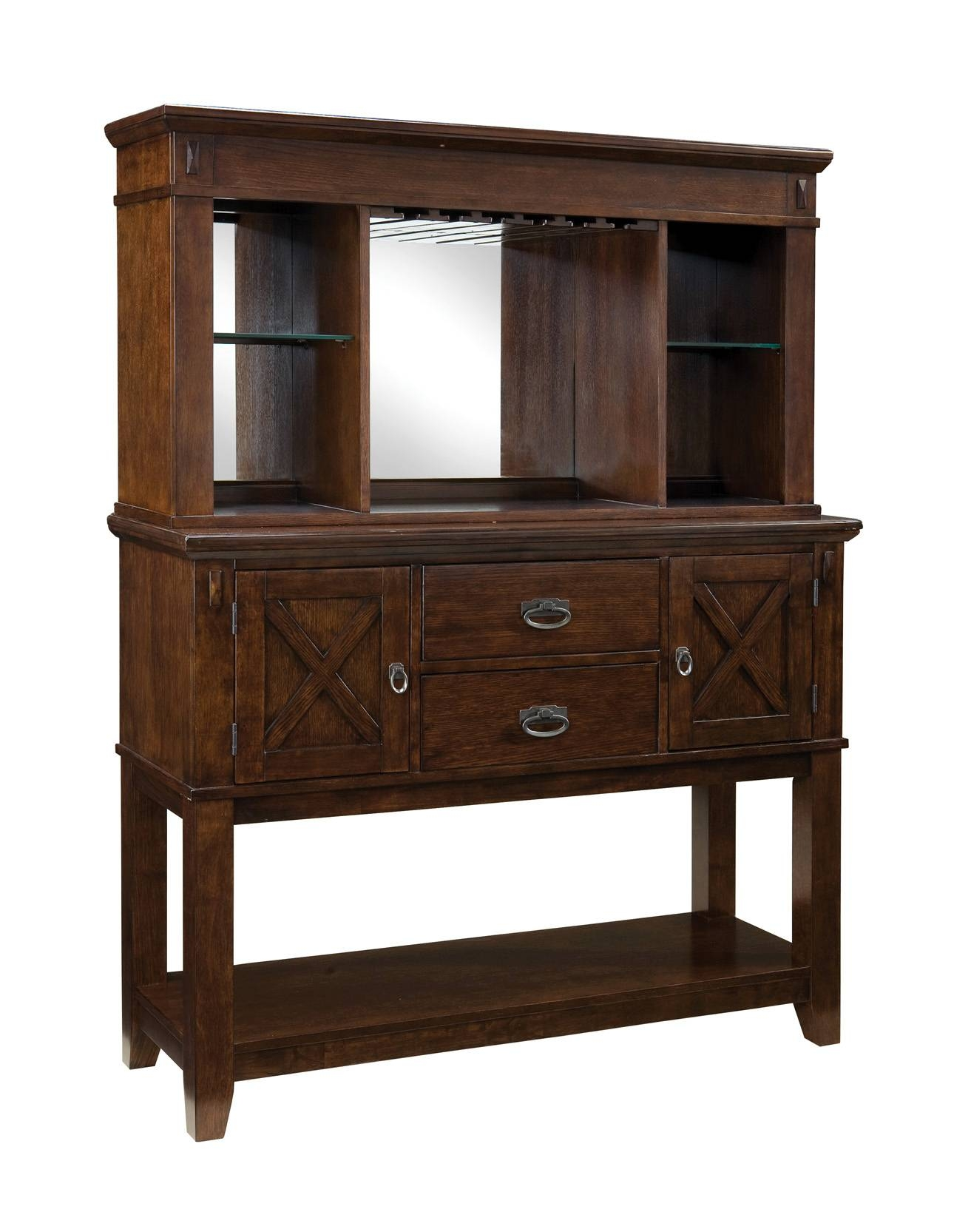 Sonoma Sideboard With Hutch Within Sideboard With Hutch (#20 of 20)