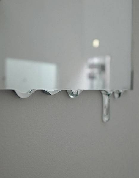 Spilling Glass: 5 Melted Wall Mirrors Form Liquid Reflections Intended For Liquid Glass Mirrors (#28 of 30)