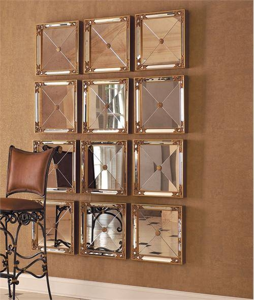 Square Mirrors From La Barge Inc (#17 of 20)