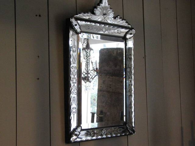Square Venetian Mirror › Puckhaber Decorative Antiques Throughout Square Venetian Mirrors (#14 of 20)