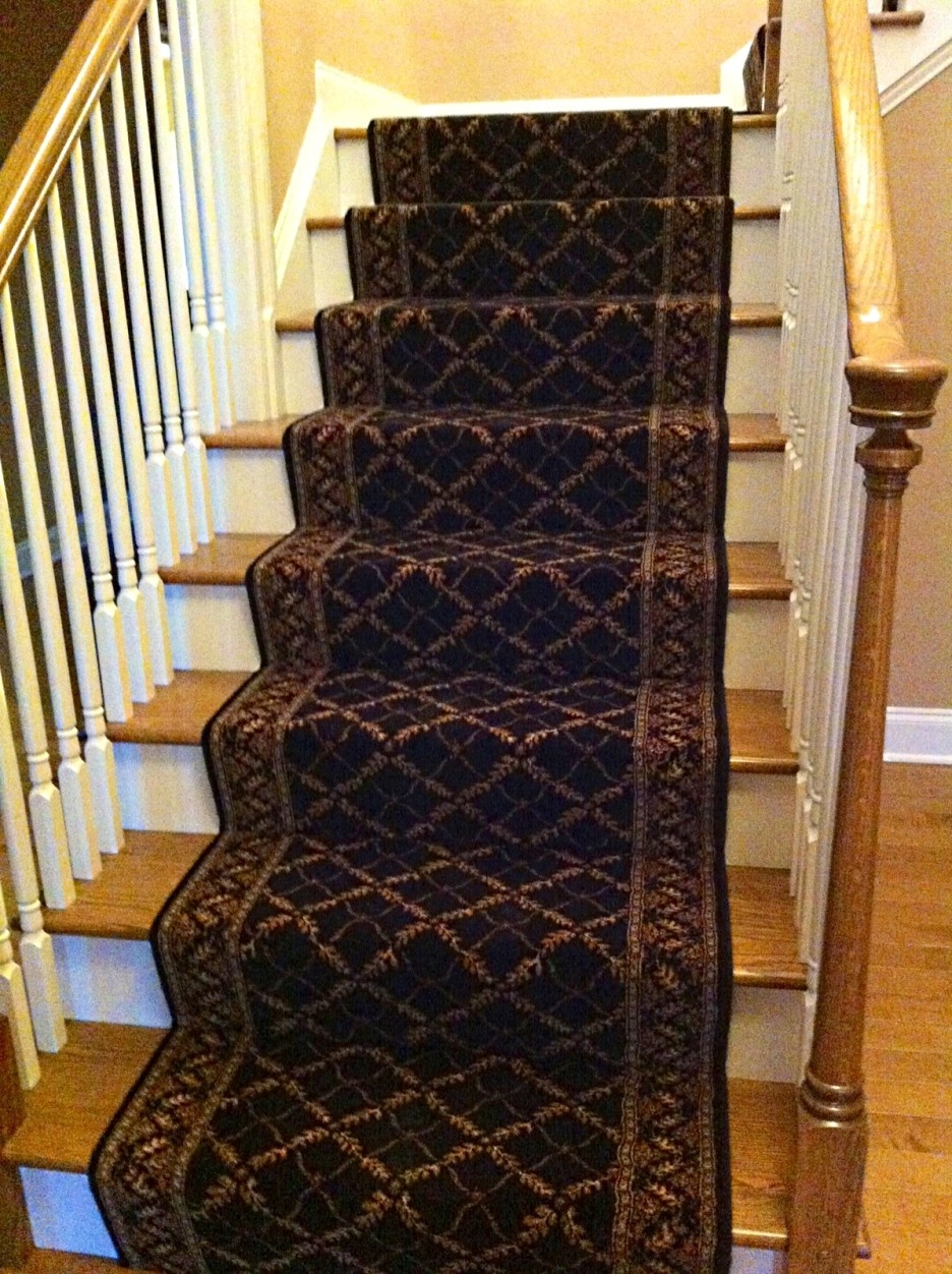 Stair Gorgeous Stair Design With Oak Treads Combine With Brown Within Brown Stair Treads (#14 of 20)
