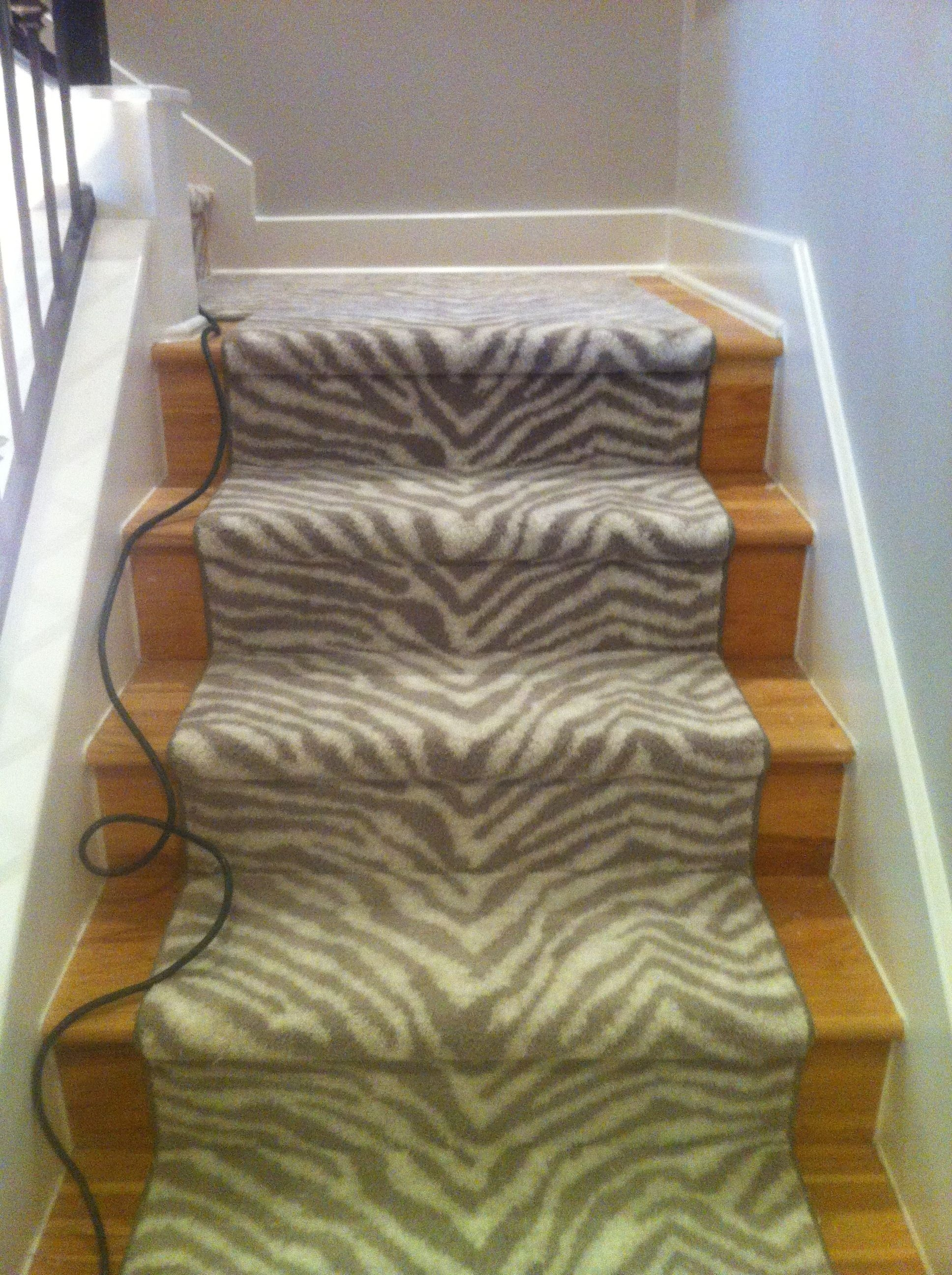 Stair Runner Is It Right For You Schroeder Carpet Regarding Carpet For Wood Stairs (#18 of 20)
