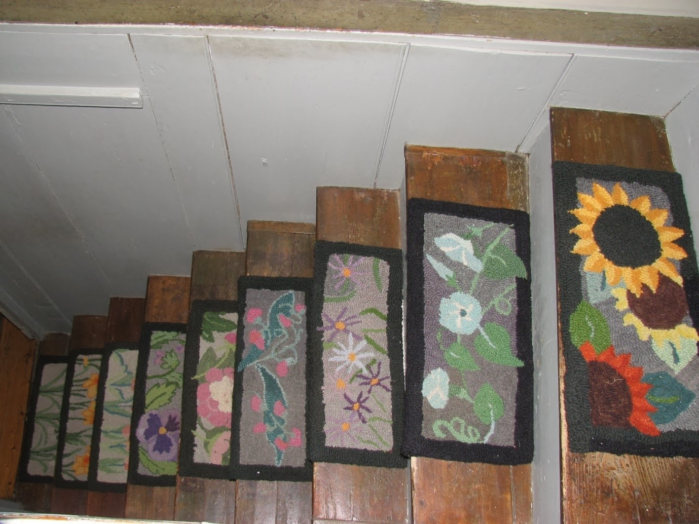 Stair Tread Covers Ideas About Stair Treads On Pinterest Carpet Intended For Rustic Stair Tread Rugs (#17 of 20)