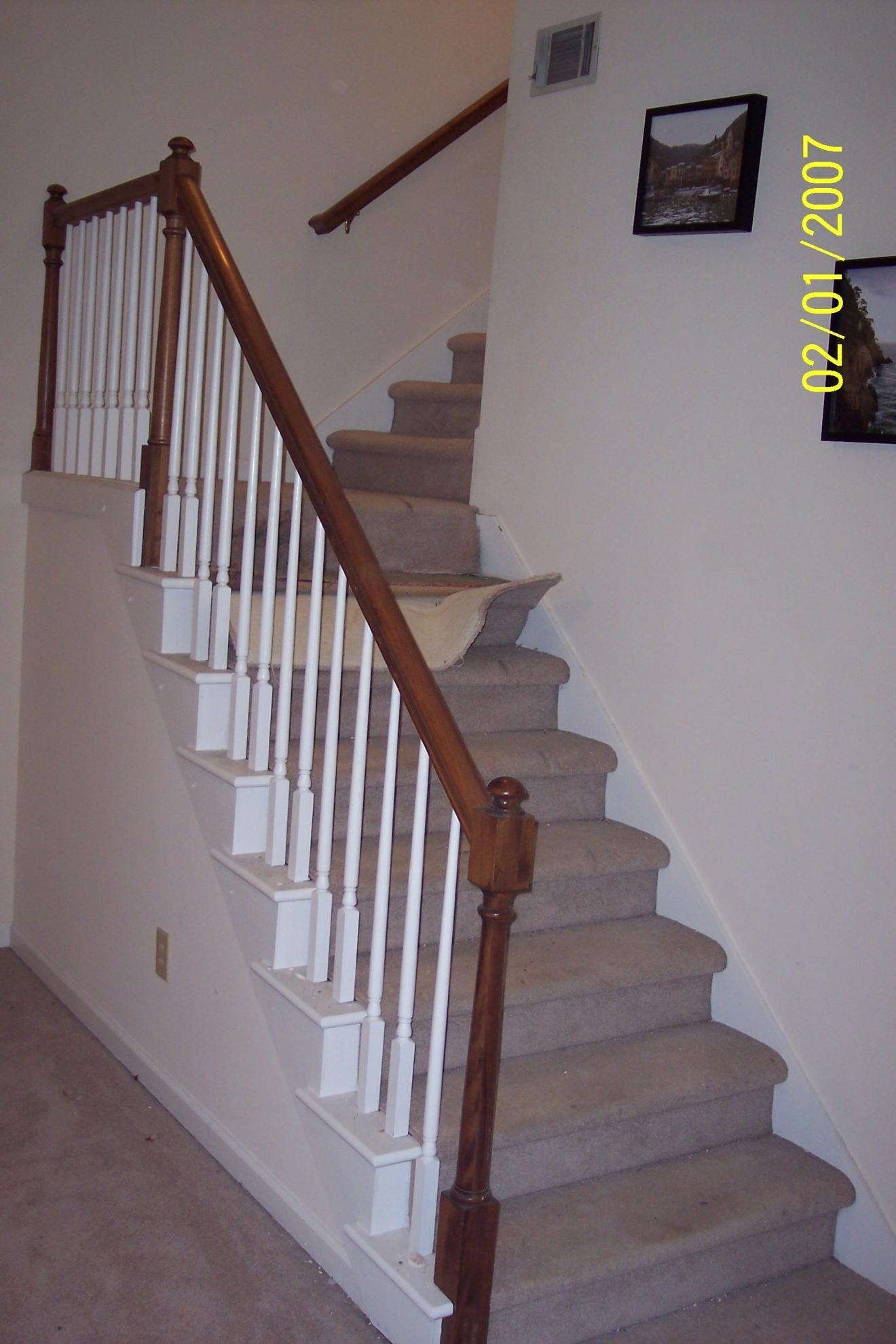 Stair Tread Remodel Carpet Runner Flooring Contractor Talk Throughout Stair Tread Carpet Runners (#19 of 20)