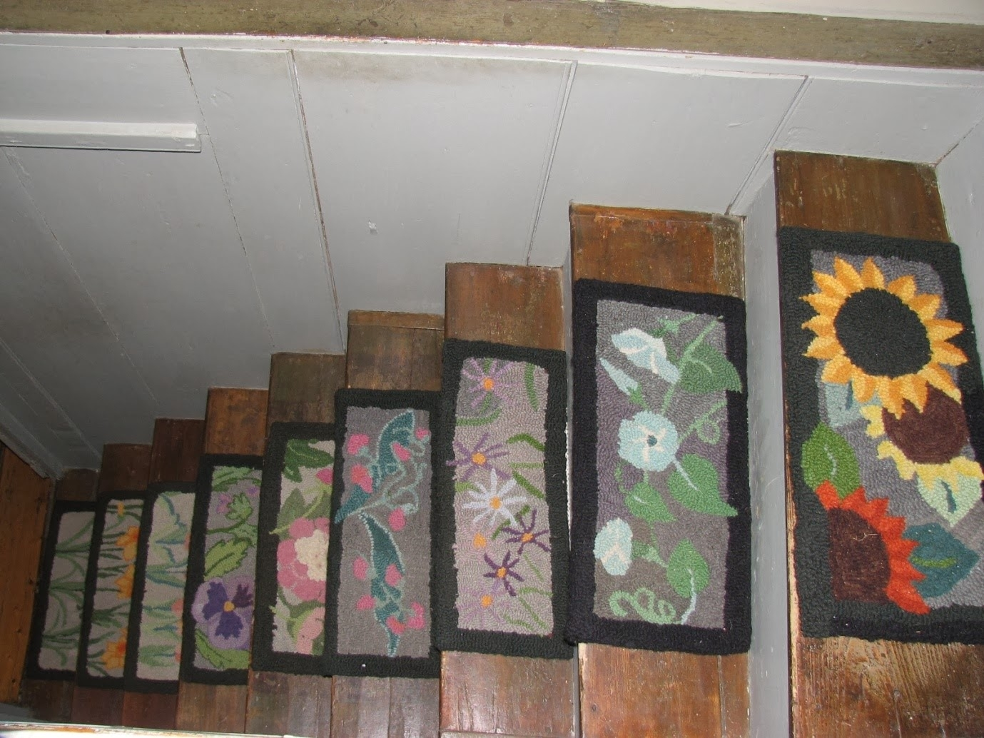 Stair Treads Rug Roselawnlutheran With Carpet Stair Treads And Rugs (#18 of 20)