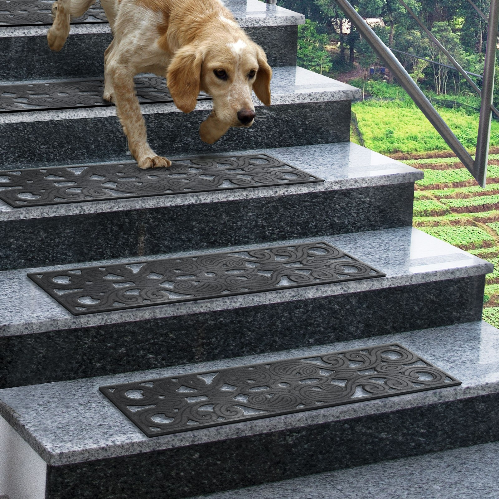 Stairs Anti Slip Mat Mobroi Throughout Traction Pads For Stairs (#20 Of 20)