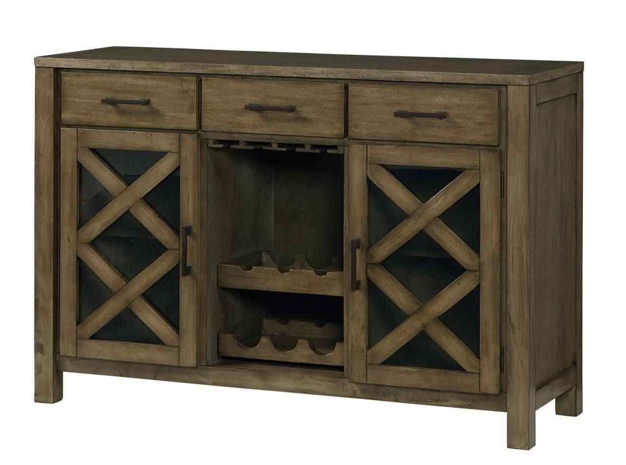 Standard Furniture Omaha Sideboard In Grey 16682Dining Rooms With Grey Wood Sideboard (#19 of 20)