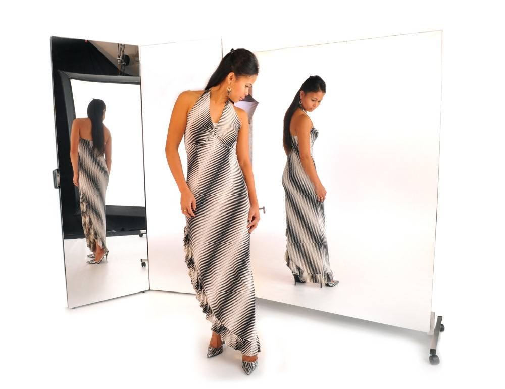 Standing Glassless Mirrors With Regard To Free Standing Long Mirrors (#28 of 30)