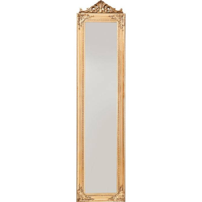 Standing Mirror Baroque Gold – Kare Design Pertaining To Gold Standing Mirrors (#27 of 30)