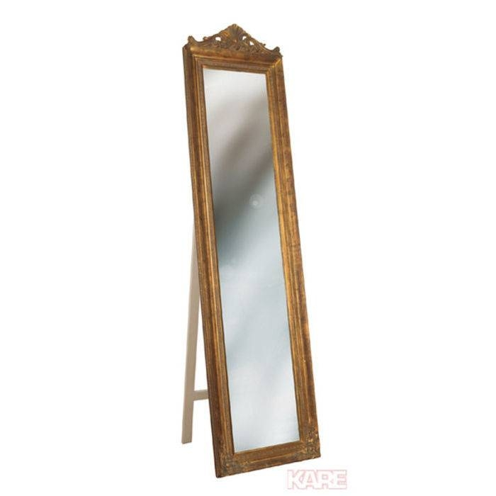 Standing Mirror Baroque Gold – Kare Design With Regard To Gold Standing Mirrors (#28 of 30)