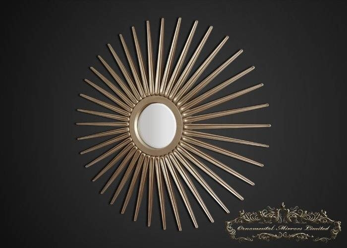 Starburst Mirror | Champagne Starburst Mirror Inside Extra Large Sunburst Mirrors (#18 of 20)