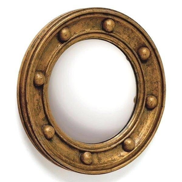 Steampunk Fantasy And Style Porthole Mirrormetal Intended For Porthole Style Mirrors (#17 of 20)