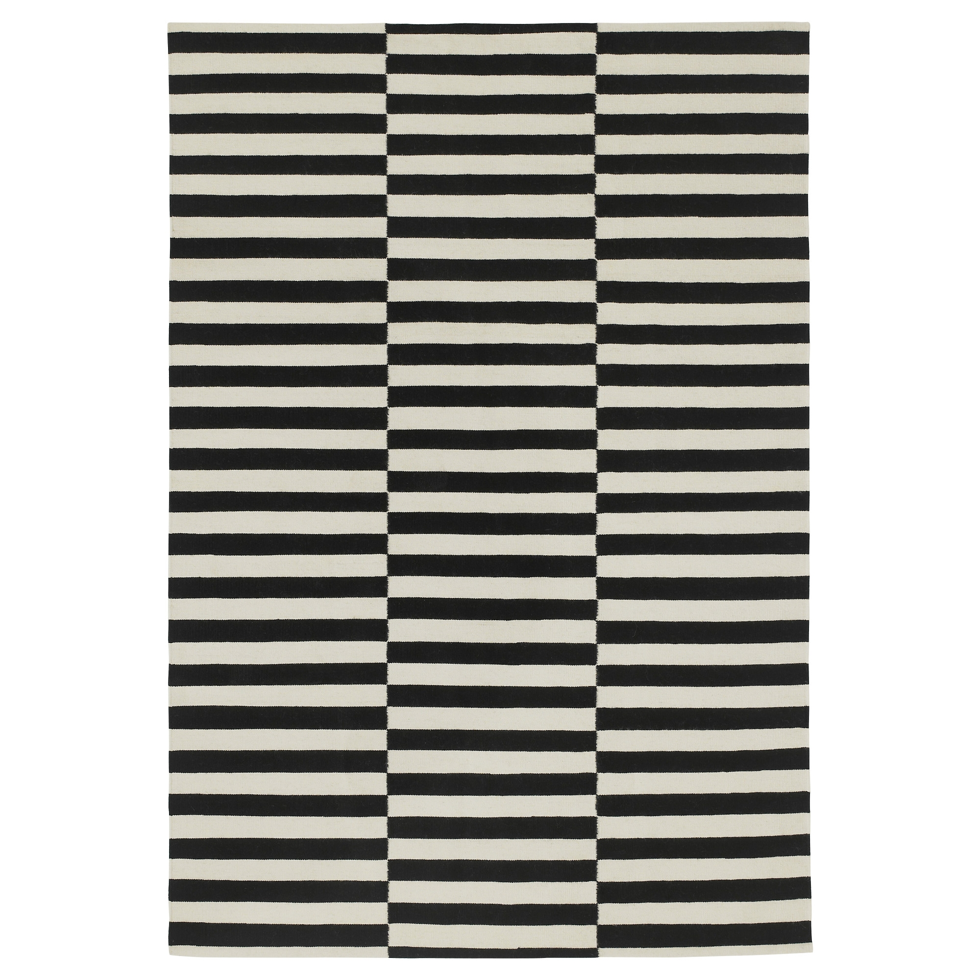 Stockholm Rug Flatwoven 5 7 X7 10 Ikea In Hallway Runners Black And White (#20 of 20)