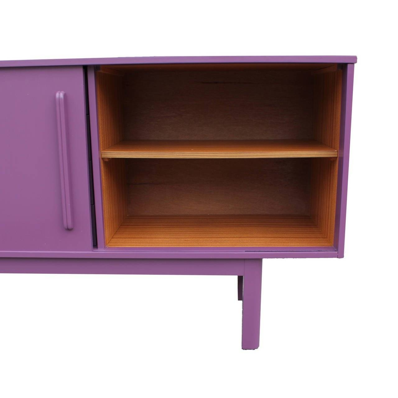 Striking Orchid Purple Sideboard At 1Stdibs Pertaining To Purple Sideboard (#15 of 20)