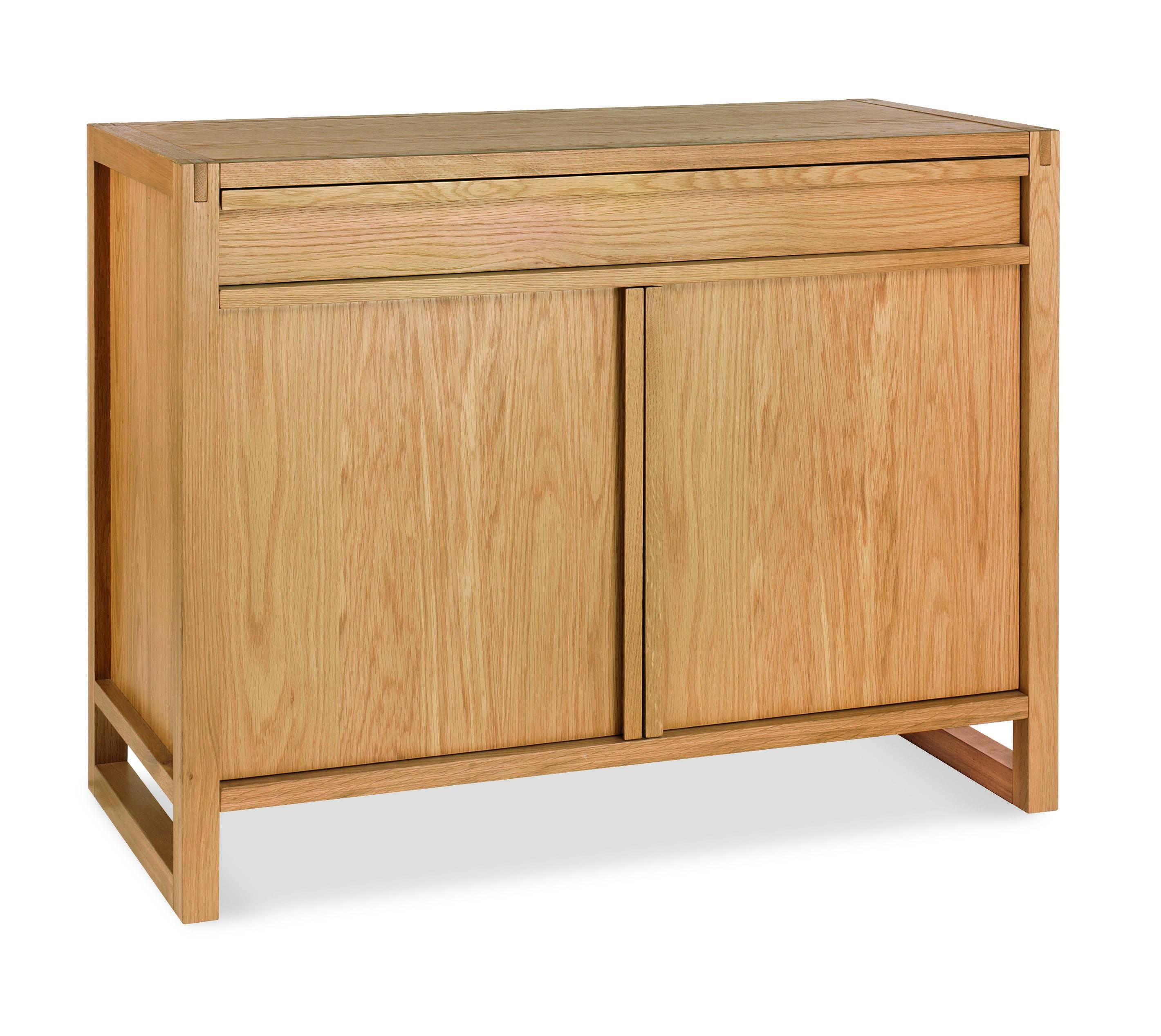 Studio Oak Narrow Sideboard With Keyboard Drawer With Regard To Narrow Sideboard (#19 of 20)
