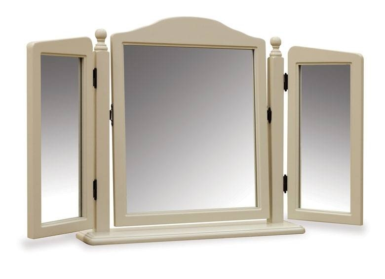 Stunning Dressing Table Mirror Free Standing Dressing Console Intended For Free Standing Dressing Table Mirrors (#30 of 30)