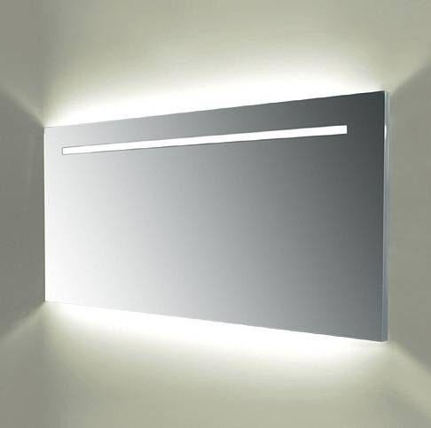 Stunning Large Bathroom Mirror With Lights Contemporary – Home Pertaining To Large Illuminated Mirrors (#29 of 30)