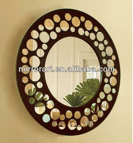 Stunning Round Decorative Wall Mirrors Ideas – Home Decorating Regarding Decorative Round Mirrors (View 29 of 30)