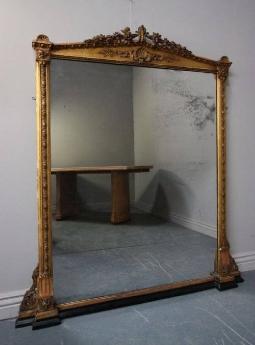 Popular Photo of Antique Overmantle Mirrors