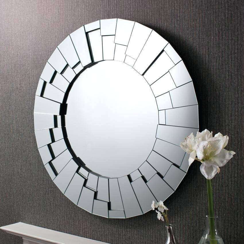 Stunningly Polished Wall Mirrors For A Unique Home Decor 3 For Unique Round Mirrors (View 13 of 30)