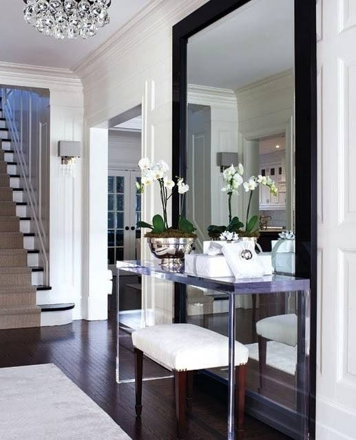Stylish Extra Large Mirrors For Homes With Regard To Black Large Mirrors (#19 of 20)