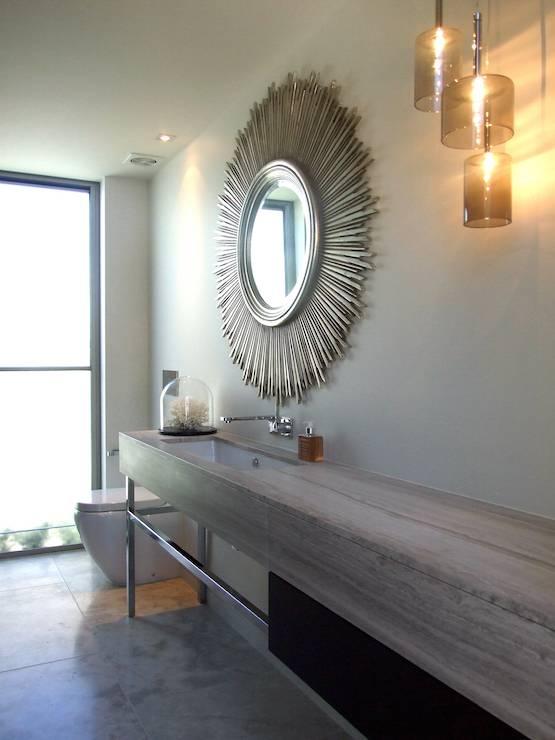 Sunburst Mirror Design Ideas Regarding Large Sunburst Mirrors (#17 of 20)