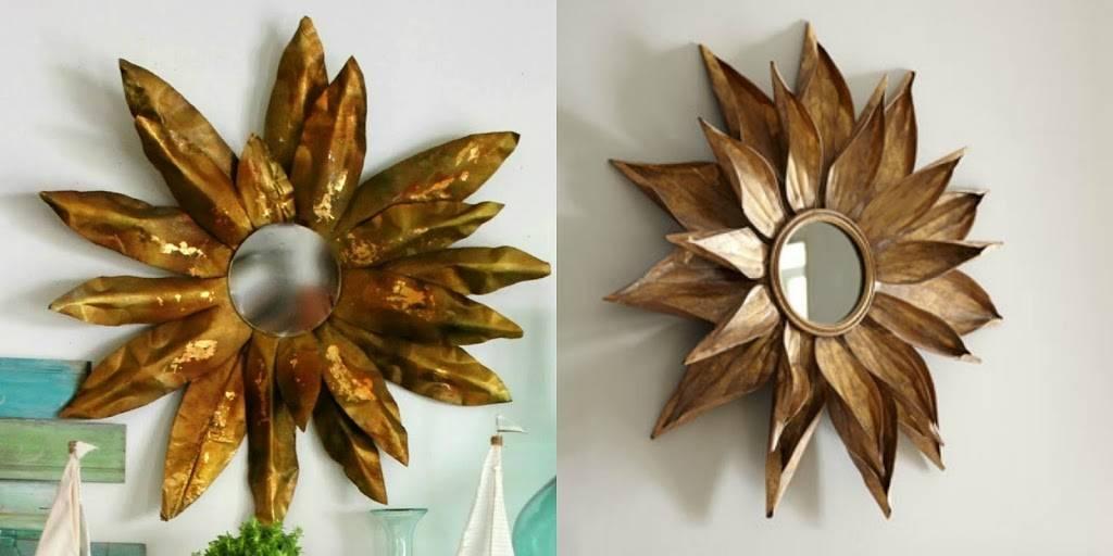 Sunburst Mirror Diy Within Bronze Starburst Mirrors (#18 of 20)