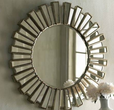 Sunburst Wall Mirror Large For Living Room – Carameloffers Intended For Extra Large Sunburst Mirrors (#20 of 20)