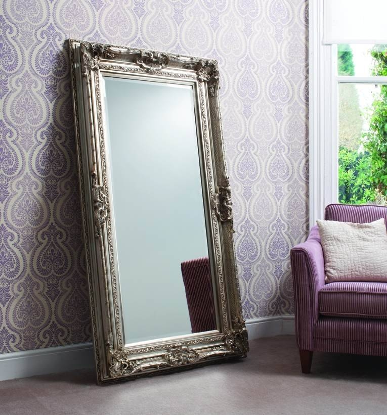 Inspiration about Swept – New Cor Silver Wall Mirror | Ireland | Mirrorzone.ie Within Silver Antique Mirrors (#11 of 20)