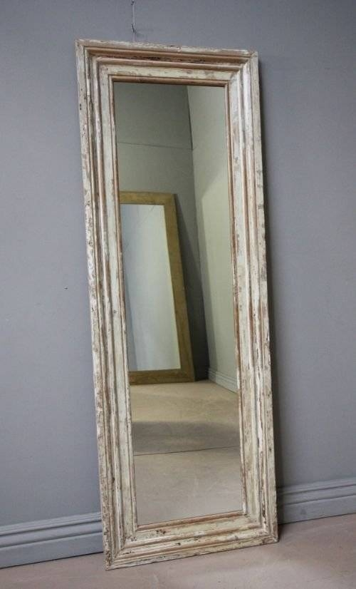 Tall Antique Victorian Architrave Mirror | 129469 Throughout Antique Long Mirrors (#17 of 20)