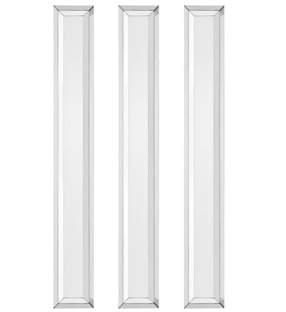 Tall Contemporary Slimline Bevelled Wall Mirror | Juliettes Pertaining To Bevelled Wall Mirrors (#20 of 20)