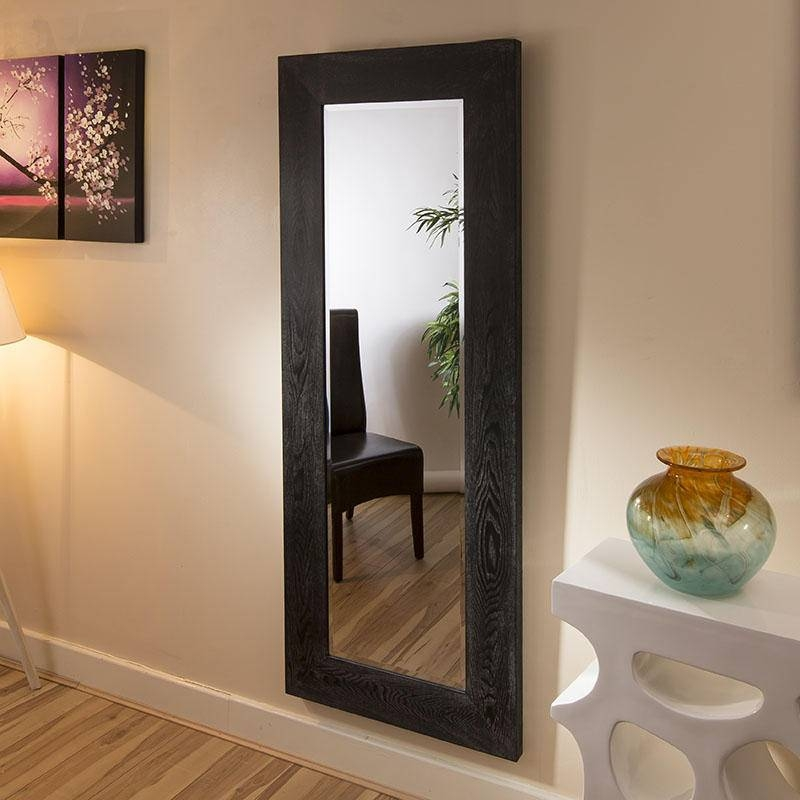 Tall Wall Mirrors – Home Wall Art & Shelves In Long Black Wall Mirrors (#28 of 30)