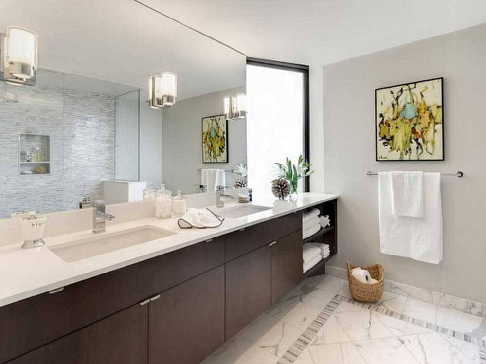 Terrific Bathroom Wall Mirror Awesome Bathroom Wall Mirrors With Regard To Frameless Large Wall Mirrors (#18 of 20)