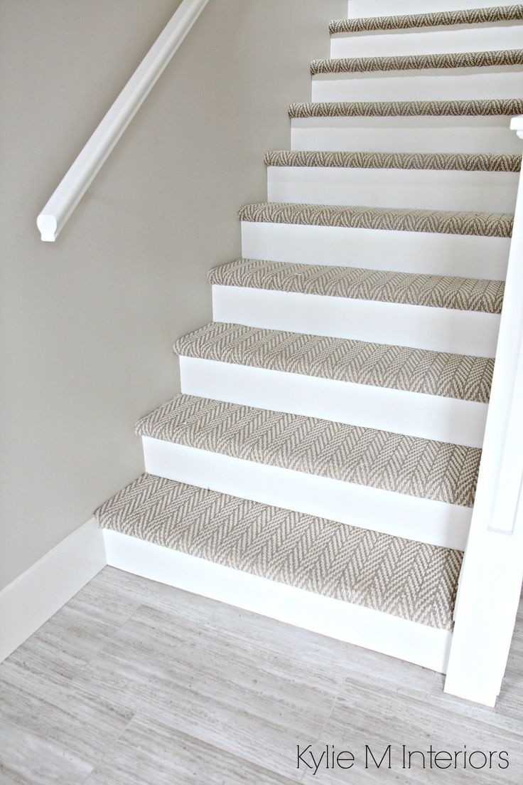The 25 Best Carpet Stairs Ideas On Pinterest Striped Carpet Intended For Basket Weave Washable Indoor Stair Tread Rugs (#18 of 20)