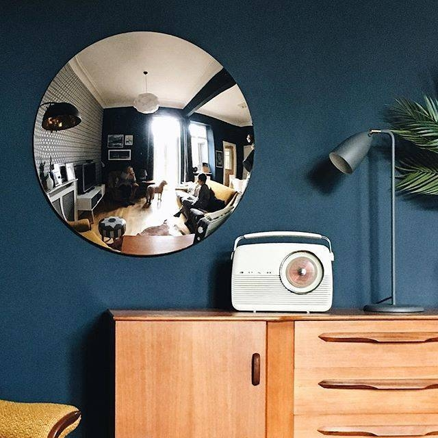 The 25+ Best Convex Mirror Ideas On Pinterest | Dark Blue Walls For Large Round Convex Mirrors (#27 of 30)