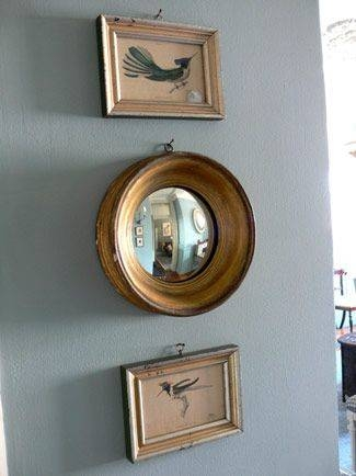 The 25+ Best Convex Mirror Ideas On Pinterest | Dark Blue Walls Intended For Small Antique Mirrors (View 13 of 20)