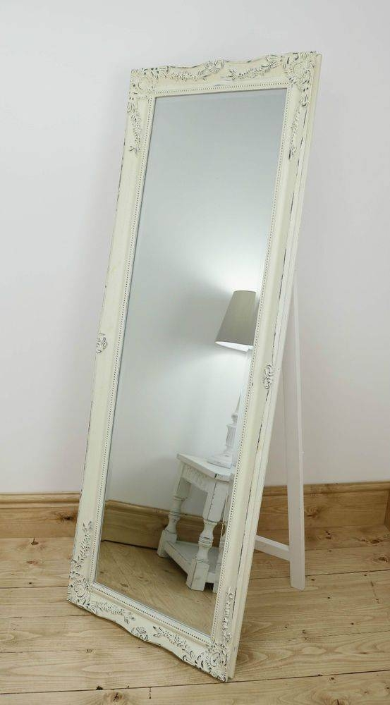 The 25+ Best Cream Full Length Mirrors Ideas On Pinterest Throughout Full Length Vintage Mirrors (#18 of 20)