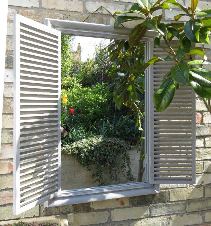 The 25+ Best Garden Mirrors Ideas On Pinterest | Outdoor Mirror In Garden Window Mirrors (#17 of 20)