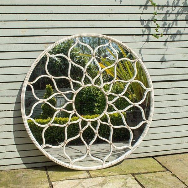 The 25+ Best Garden Mirrors Ideas On Pinterest   Outdoor Mirror Throughout Large Garden Mirrors (#29 of 30)