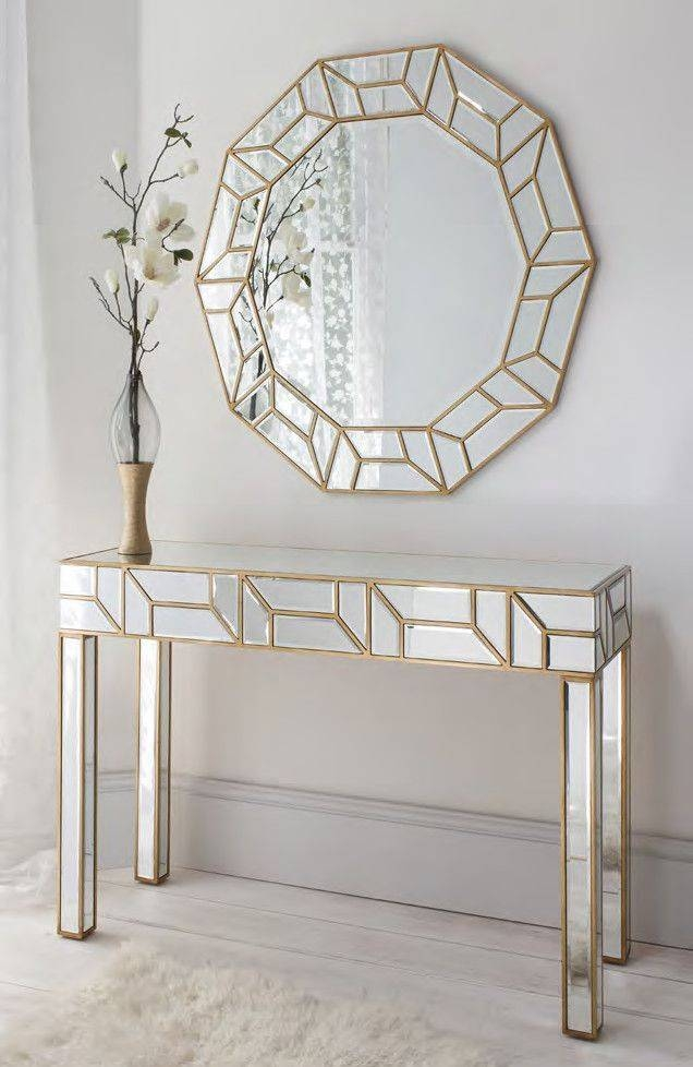The 25+ Best Mirror Set Ideas On Pinterest | Mirrored Dressing Inside Decorative Table Mirrors (View 29 of 30)