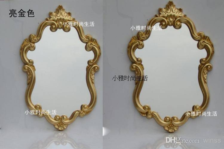 The Baroque Style/waterproof Bathroom Mirror/toilet Glass/mirror In Baroque Style Mirrors (#18 of 20)