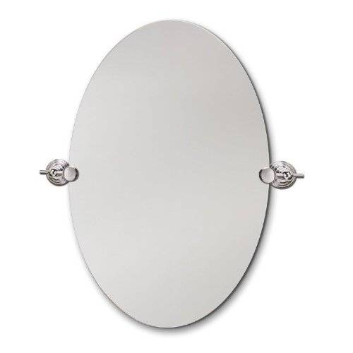 The Best Oval Mirrors For Your Bathroom | Decor Snob Inside Oval White Mirrors (#28 of 30)