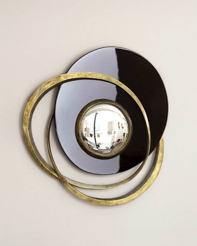 The Best Wall Mirrors To Make A Statement In Convex Decorative Mirrors (View 25 of 30)