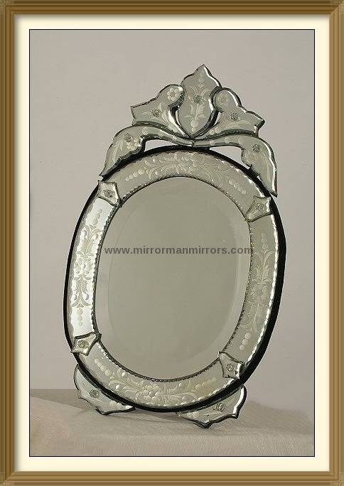 Popular Photo of Venetian Table Mirrors