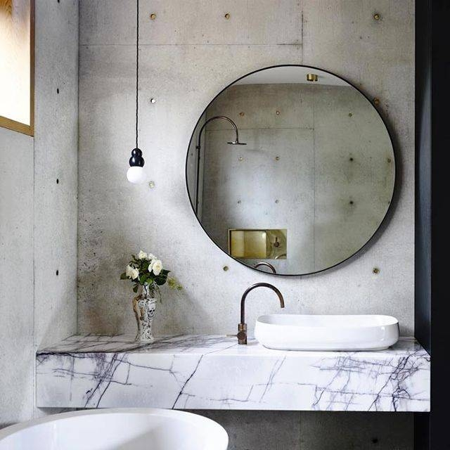 This Chic Item Can Make Any Room Look Bigger | Mydomaine In Large Circular Mirrors (#20 of 20)