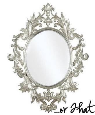This Or That: Baroque Decorative Mirror – Shop Nyc Daily In White Baroque Wall Mirrors (#17 of 20)