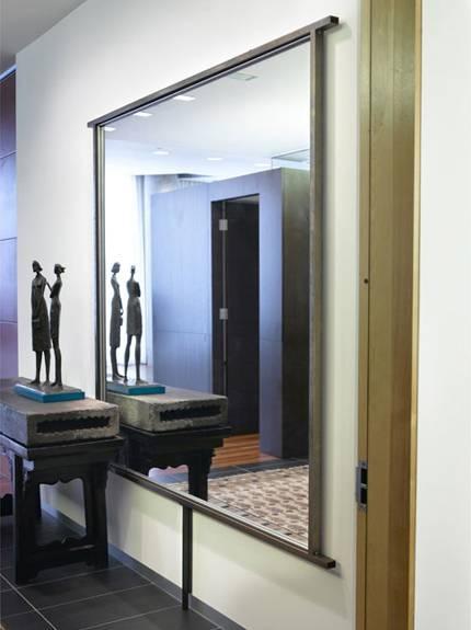Thomas Oliphant | Custom Designed Mirror Large Bronze Stainless Steel Regarding Large Bronze Mirrors (View 13 of 30)