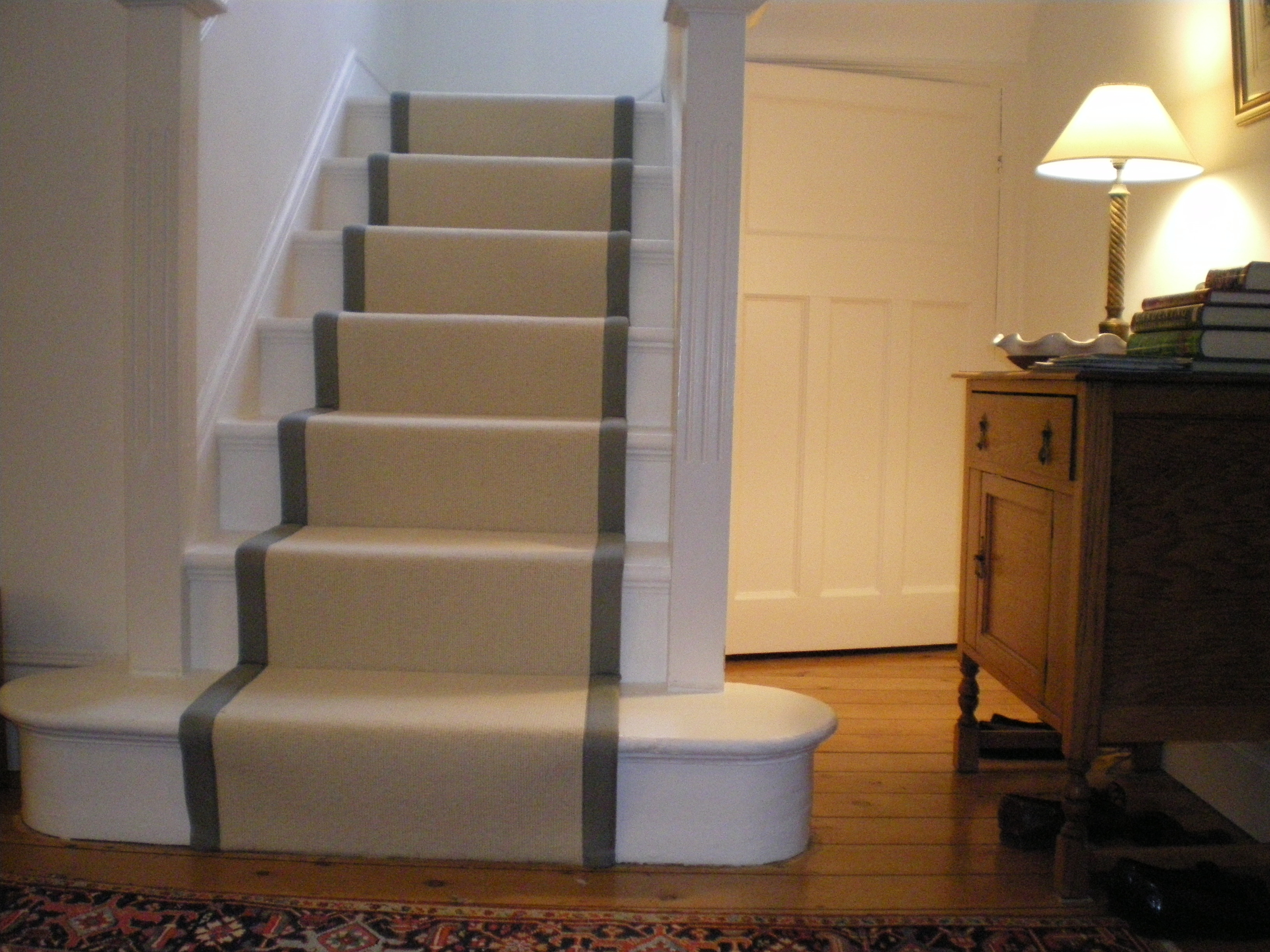 Tips Customize Your Stair Runners To Protects Your Stairs Within Contemporary Runner Rugs For Hallway (#17 of 20)